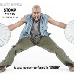 Can't beat the beats of 'STOMP' in Boston